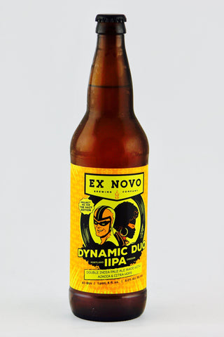 Ex Novo Dynamic Duo IIPA 22 oz