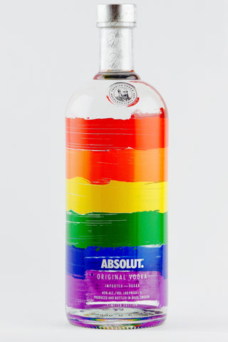 ABSOLUT COLORS VODKA V4 Limited Edition Liter