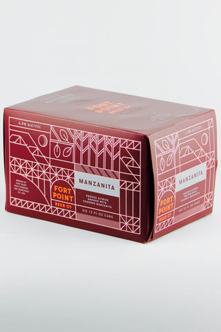 Fort Point Manzanita Smoked Alt Six Pack Cans