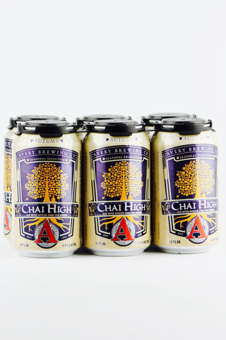 Avery Chai High Autumn Ale Six Pack Cans