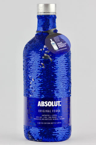 Absolut Vodka with Blue Sequin