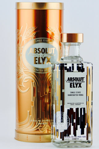 Absolut Elyx Vodka Musical Tin