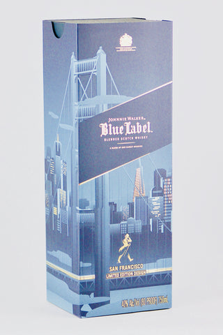 Johnnie Walker Blue Label San Francisco Edition Scotch Whisky