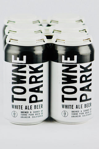 Towne Park White Ale Can Four Pack