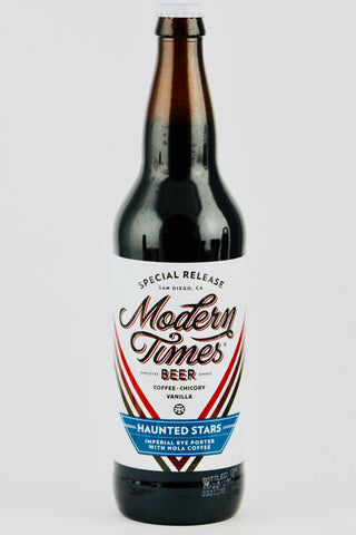 "Modern Times ""Haunted Stars"" Imperial Rye Porter with Nola Coffee 22 oz"