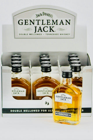 Jack Daniel's Gentleman Jack Tennessee Whisky 12 x 50 ml