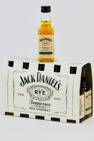 Jack Daniel's Tennessee Rye Whiskey 10 x 50 ml