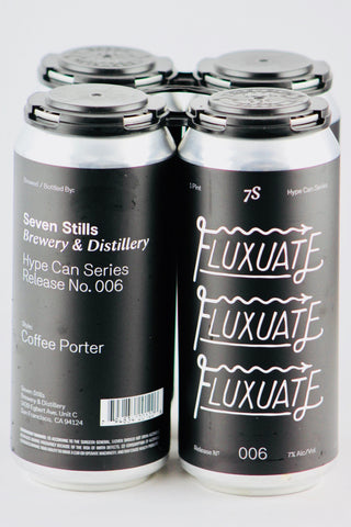 "Seven Stills ""Fluxuate"" Coffee Porter Four Pack Cans"