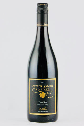 "Patton Valley 2011 Estate Pinot Noir ""Ten Acre"""