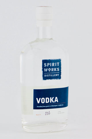 Spirit Works Distillery Vodka