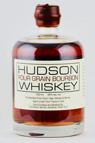 Hudson Four Grain Bourbon By Tuthilltown Spirits 750 ml