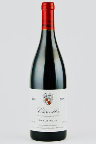 Domaine Emile Cheysson 2015 Chiroubles