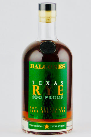 Balcones Texas Rye Whiskey