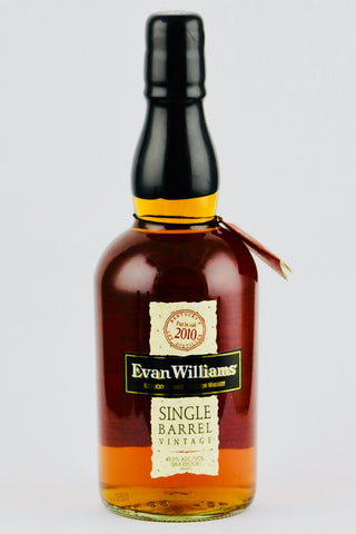 Evan Williams Vintage 2010 Single Barrel Bourbon Whiskey
