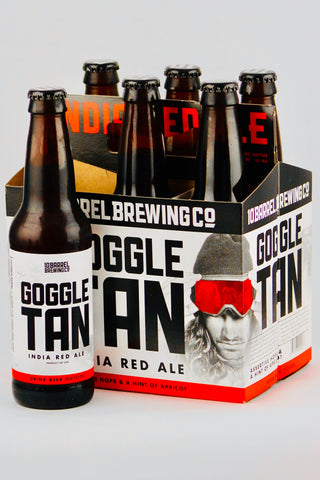 10 Barrel Goggle Tan India Red Ale 12 oz Six Pack