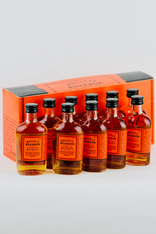 Bulleit Bourbon Whiskey 10 x 50 ml bottles