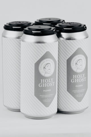 Laughing Monk Holy Ghost Pilsner 16 oz Can Four Pack