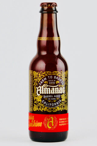Almanac Raspberry Sunshine Sour Ale 375 ml