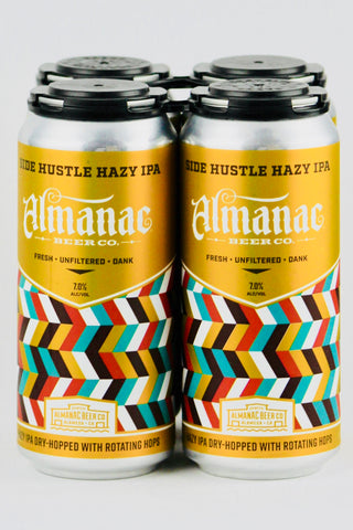 Almanac Side Hustle Hazy IPA Four Pack Cans
