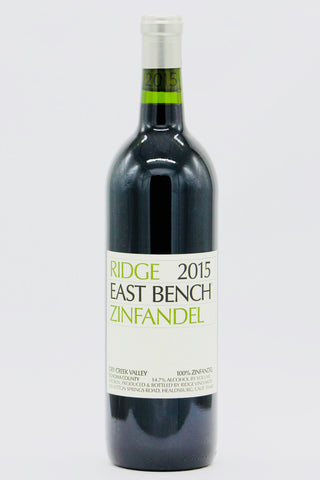 Ridge 2015 Zinfandel East Bench Dry Creek