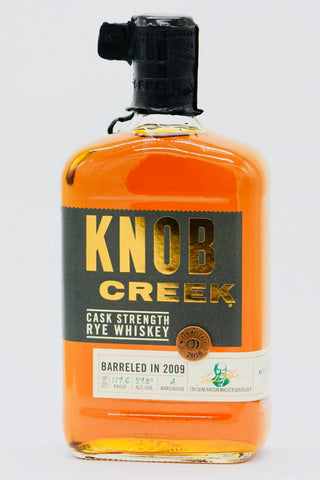 Knob Creek Cask Strength Rye Whiskey 119.6 Proof