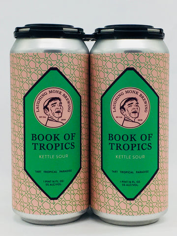 Laughing Monk Books of Tropics Sour - Berliner Weisse 16 oz Can Four Pack