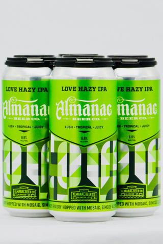 Almanac Love Hazy IPA Four Pack Cans