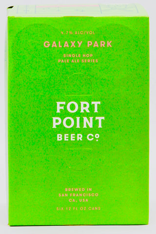 Fort Point Galaxy Park Beer six-pack cans