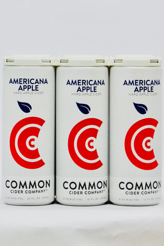 Common Americana Apple Cider Six Pack Cans
