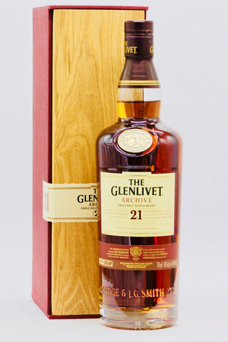 "Glenlivet 21 Year Old ""Archive"" Scotch Whisky"