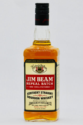 "Jim Beam ""Repeal Prohibition"" Batch Bourbon Whiskey Limited Edition"