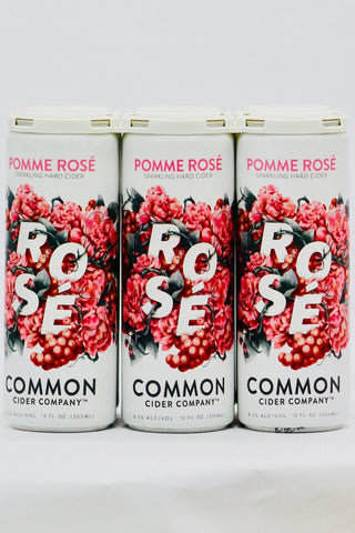 Common Pomme Rosé Cider Six Pack Cans
