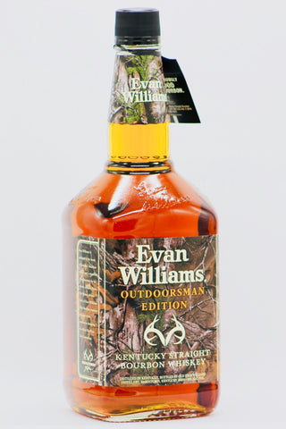 "Evan Williams ""Outdoorsman Edition"" Bourbon Whiskey 1.75L"