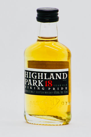 Highland Park 18 Year Old Scotch Whisky 50 ml