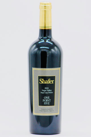 Shafer 2015 Cabernet Sauvignon One Point Five Stag's Leap District