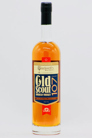 "Smooth Ambler Old Scout ""Blackwell's Blend"" American Whiskey"