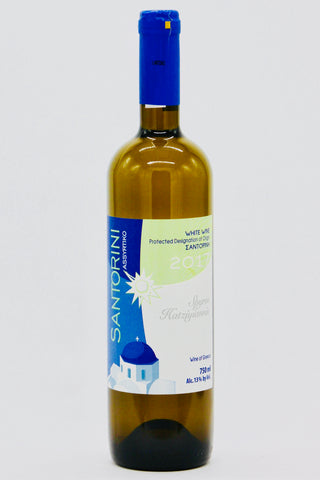 Spyros Hatziyiannis 2018 Santorini Greek White Wine