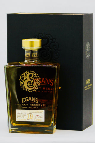 "Egan's 15 Year Old ""Legacy Reserve"" Single Malt Irish Whiskey"