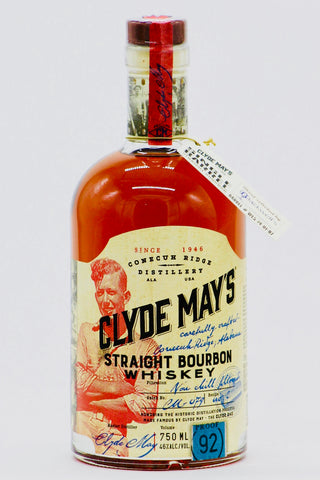 "Clyde May's ""Blackwell's Single Barrel"" Bourbon Whiskey 92 Proof"