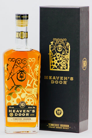 Heaven's Door 10 Year Old Tennessee Bourbon Whiskey