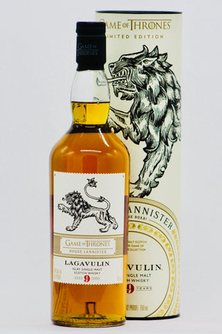 "Game of Thrones Lagavulin ""House Lannister"" 9 Years Old Single Malt Scotch Whisky"