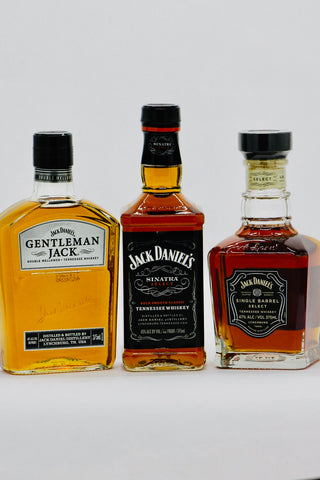 Jack Daniel's Gentleman Jack/Sinatra/Single Barrel 375 ml Whisky Gift Pack