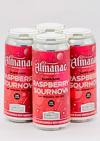 Almanac Raspberry Sour Ale Four Pack Cans