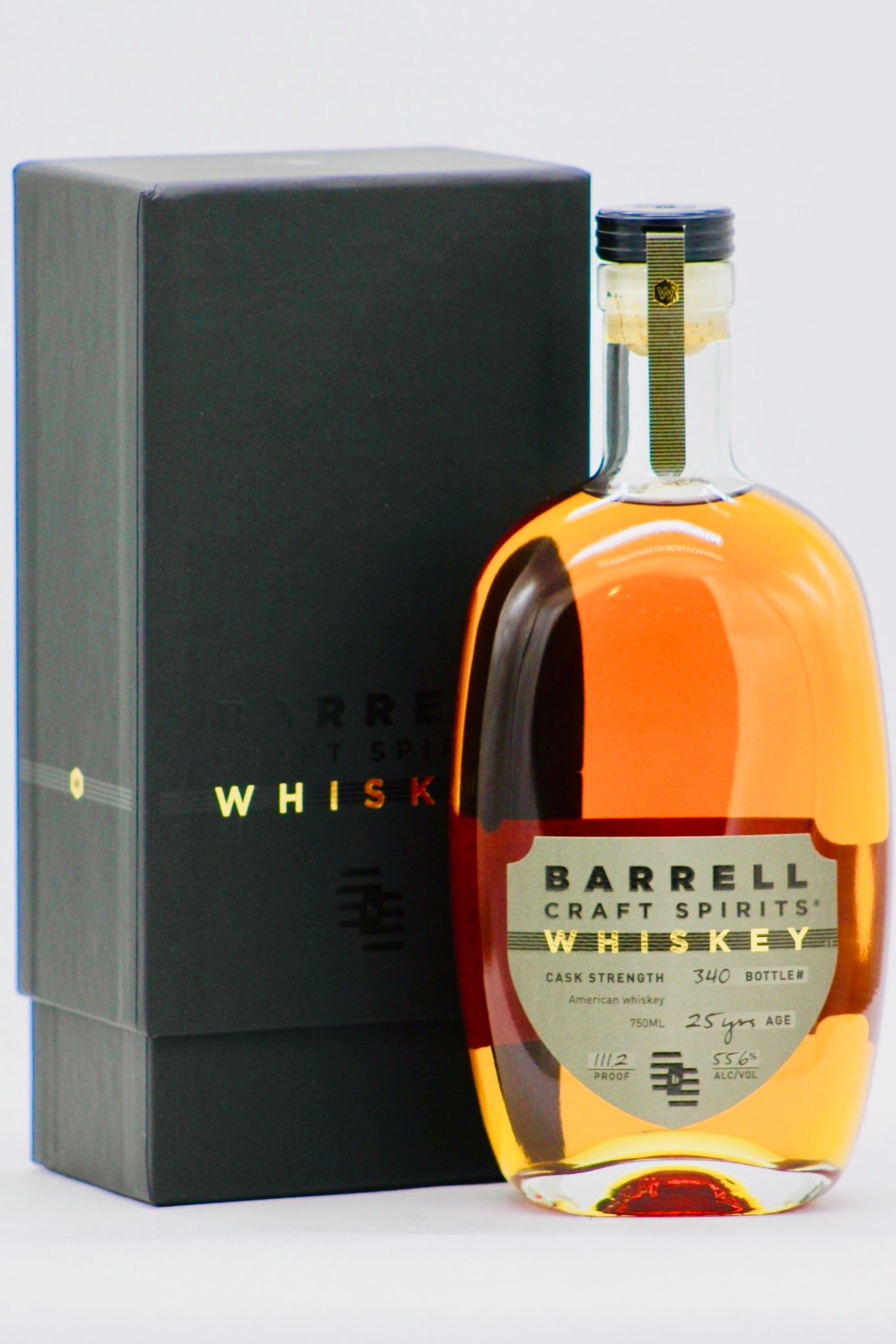 barrell craft spirits 25 year old cask strength whiskey
