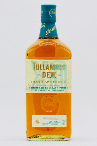 "Tullamore Dew ""XO"" Caribbean Rum Cask Finish Irish Whiskey"