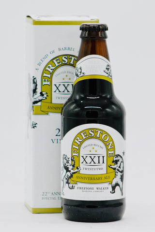 Firestone Walker XXII 22nd Anniversary Ale 12 oz