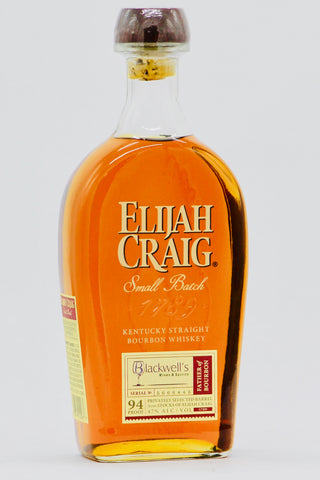 Elijah Craig Single Barrel Small Batch Bourbon