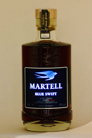 "Martell Blue Swift ""Light Up"" Night Bottle Cognac 750 ml"