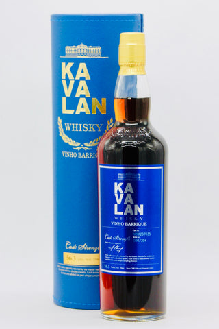 Kavalan Vinho Barrique 112.6 Proof Single Cask Strength Single Malt Whisky