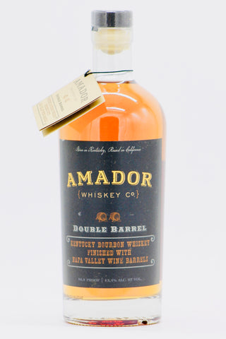 Amador Whiskey Company Double Barrel Kentucky Bourbon Whiskey